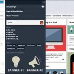 Slidebar menu